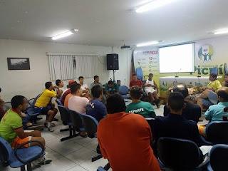 Departamento de Esportes de Picuí discute sobre o Campeonato Municipal de Futsal 2017