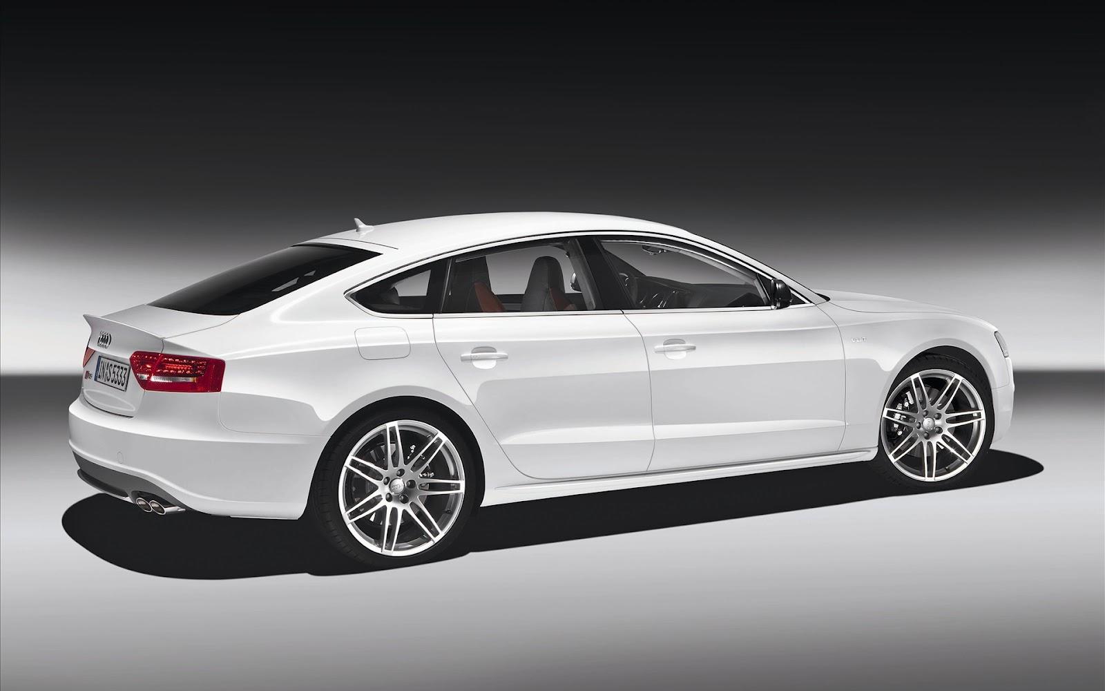 New Car Photo: White Audi S5 Wallpaper