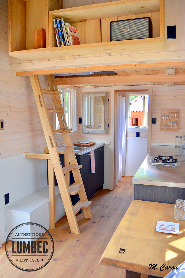 Tiny Home Design Plans: TINY HOUSE TOWN: The Lumbec Micro-House