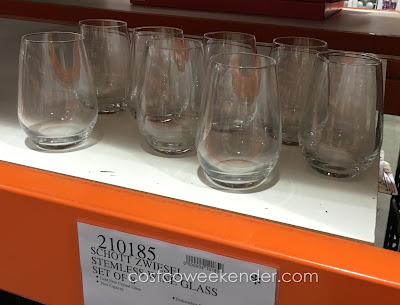 Drink Wine in style with the Schott Zwiesel Stemless Wine Glass