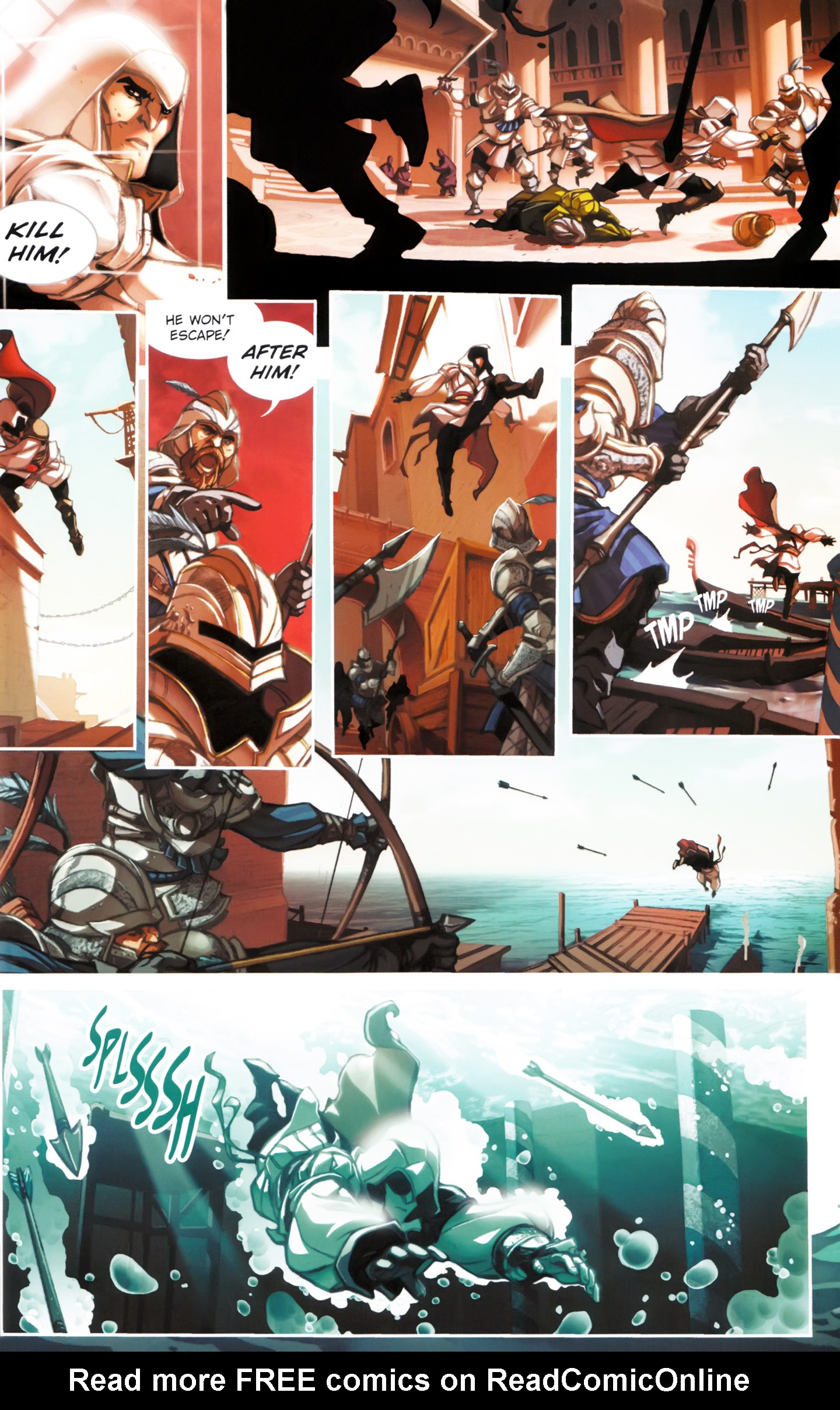 Read online Assassin's Creed: The Fall comic -  Issue #Assassin's Creed: The Fall _TPB 1 - 17