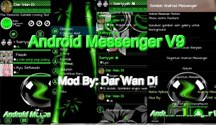 Android Messenger v9 By Dar Wan Di
