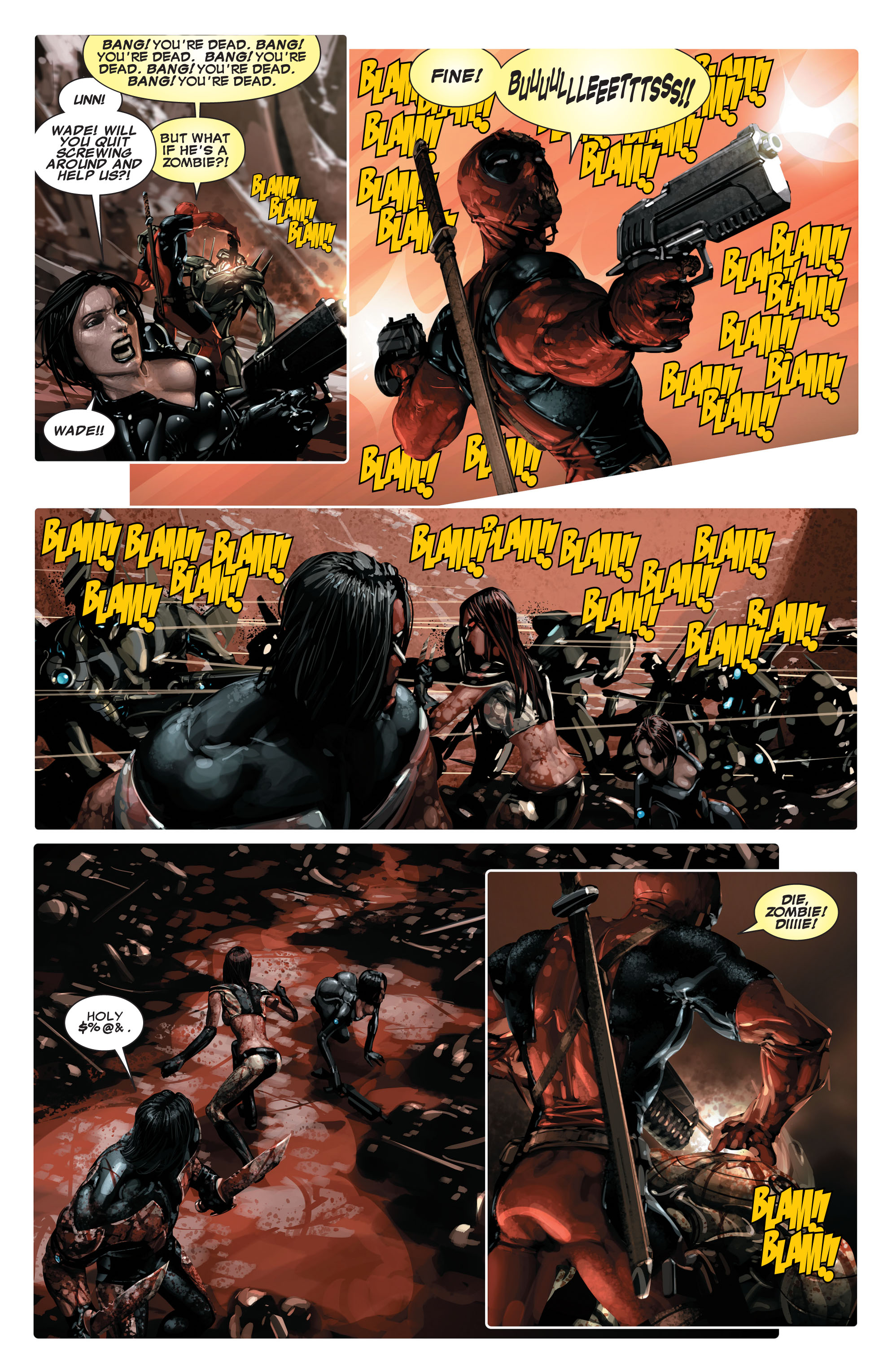 Read online X-Force (2008) comic -  Issue #14 - 11