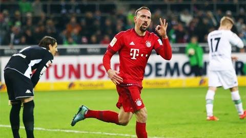 Ribery đã giúp Bayern lên một tầm cao mới