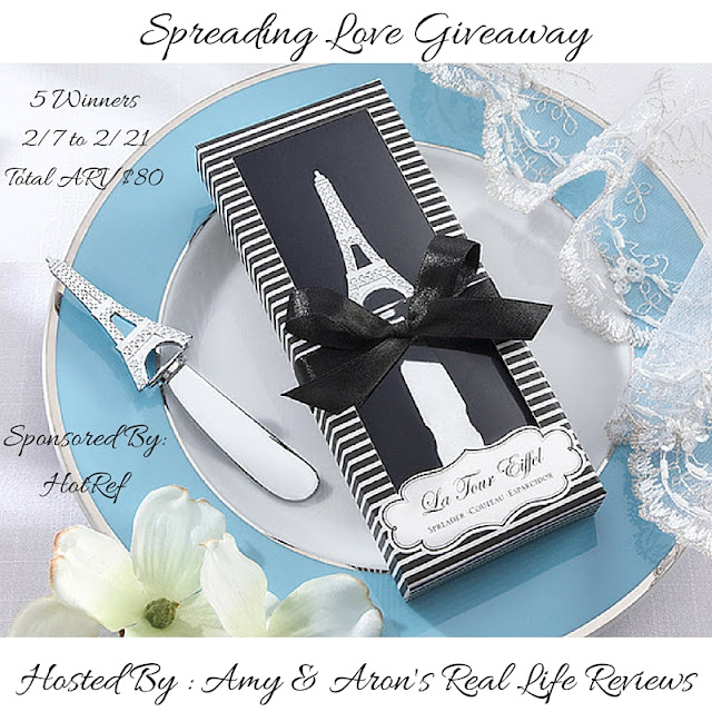 Spreading the Love Giveaway Ends 2/21