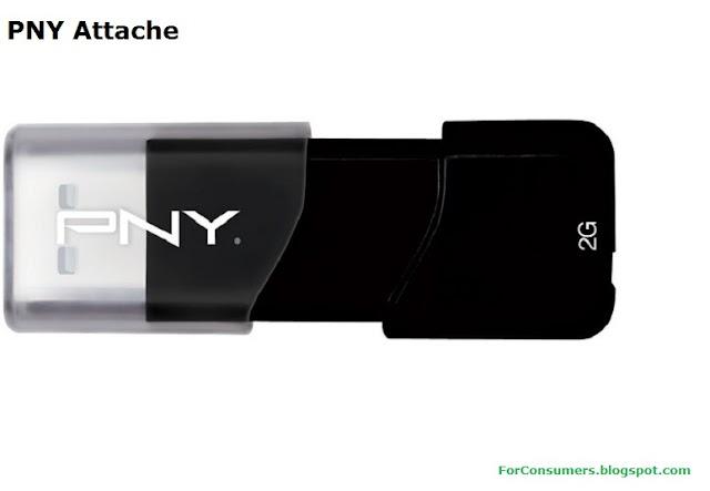 PNY Attache 64GB USB flash drive specs