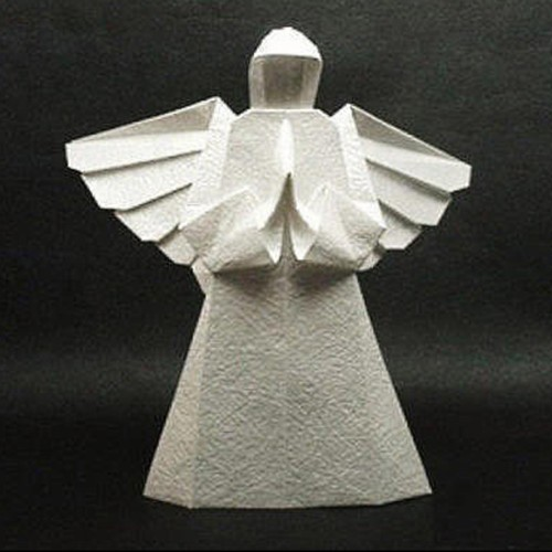 Origami Christmas Tree Topper