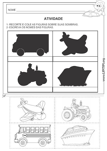 Atividade Discriminação Visual e Auto ditado Primeiro Ciclo
