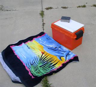 Outdoor photo studio