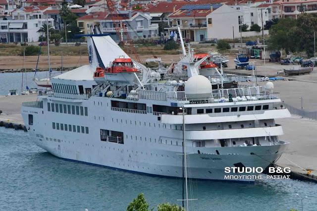Med Queen: Ένα πολυβραβευμένο κρουαζιερόπλοιο στο Ναύπλιο