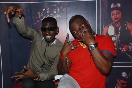 DSC 0958 - PHOTOS: May D visits Charlyboy To Seek blessings for Abuja show