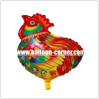 Balon Foil Karakter Ayam