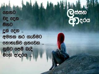 Sri Lankan Poems Sinhala Kavi Adara Nisadas
