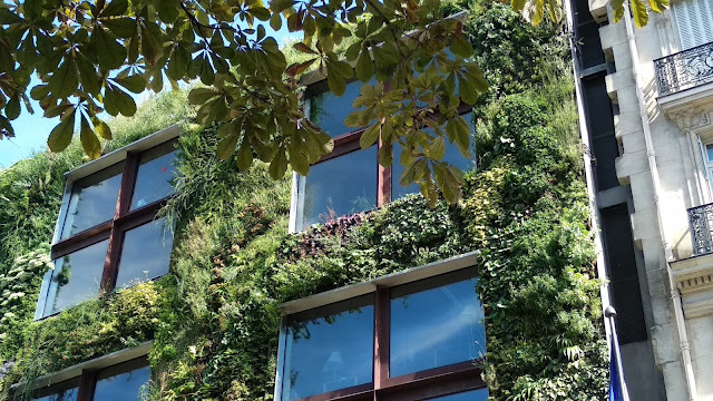 Jardin vertical Paris