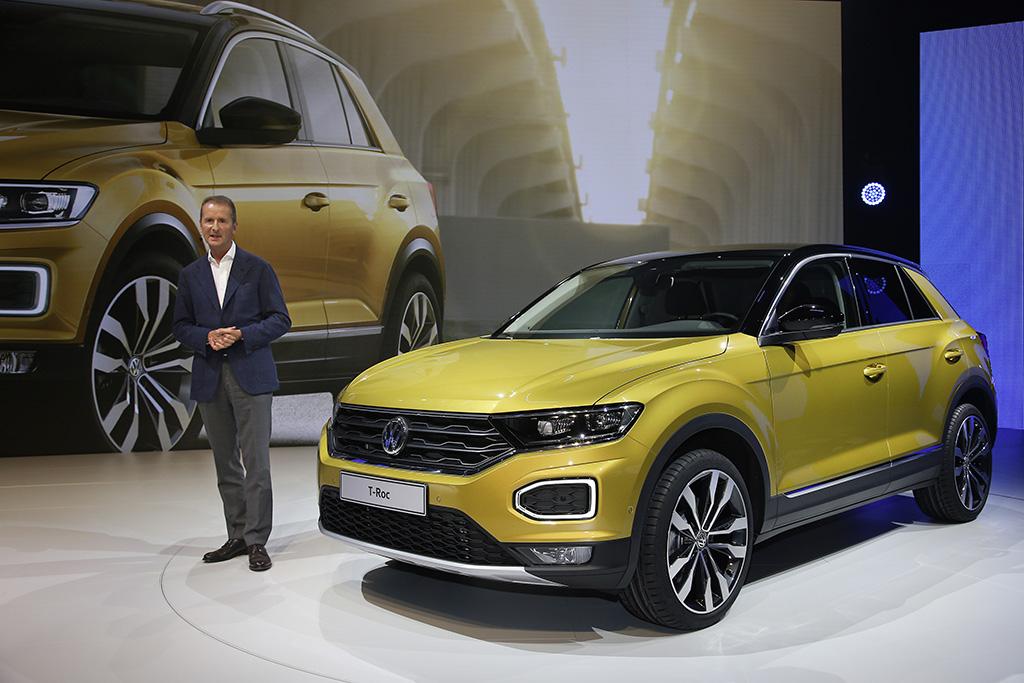 Der Neue Volkswagen T Roc Weltpremiere Mobile Aspekte