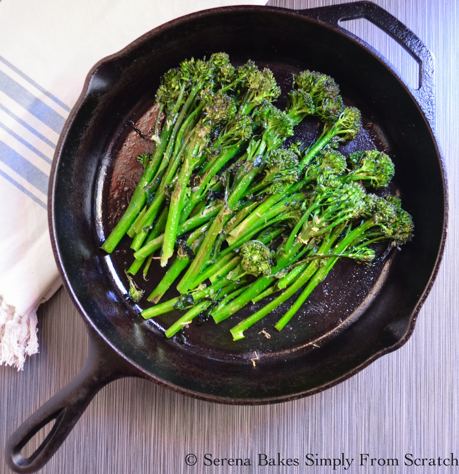 Oven Roasted Broccoli or Broccolini