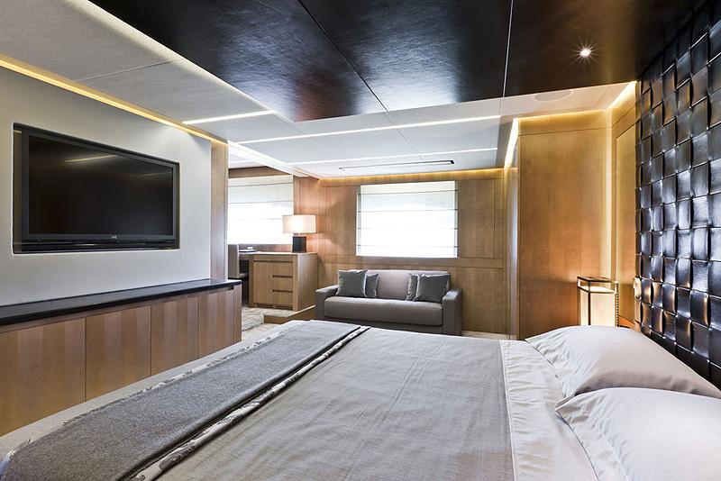 fendi, poltrona yacht interior