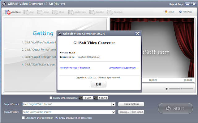 GiliSoft Video Converter 10 Crack free Download