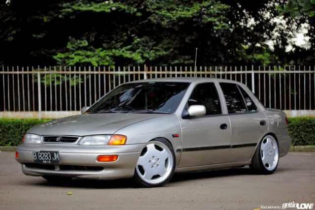 Modifikasi Mobil Timor Elegant Silver