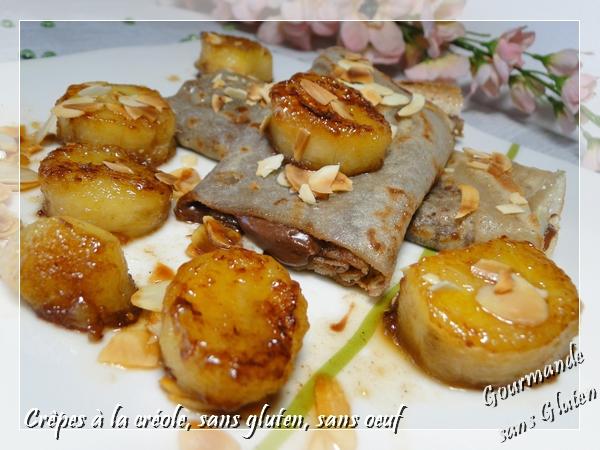 Crêpes à la créole sans gluten, sans oeuf