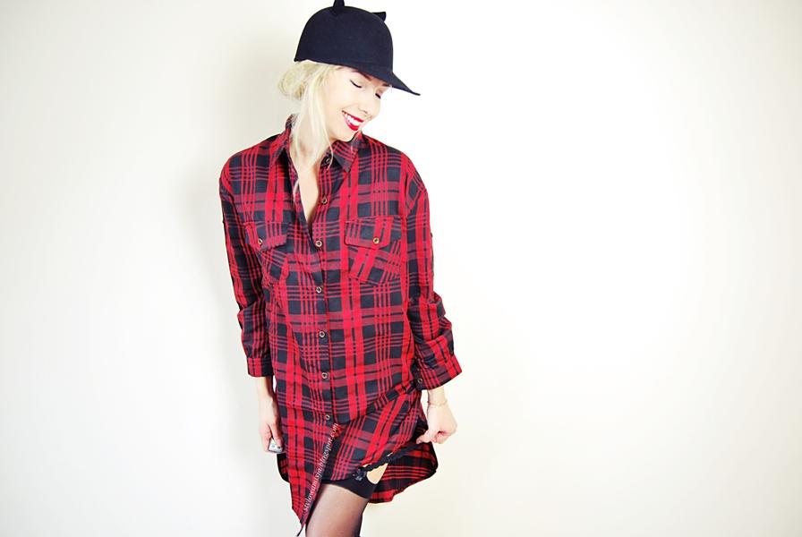 czapka, e-marilyn.pl, koszula, moda, pończochy,