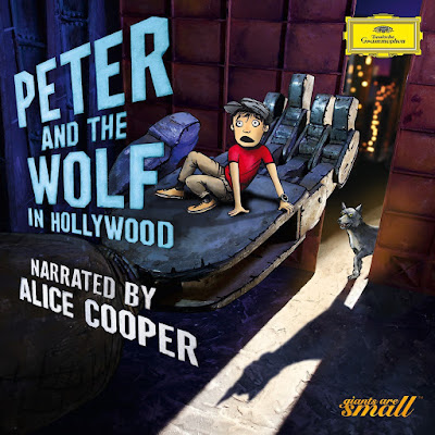 Peter and the wolf narrated by Alice Cooper