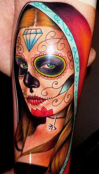 Tatuajes de catrinas mexicanas significado belagoria for Tattoos mexicanos fotos