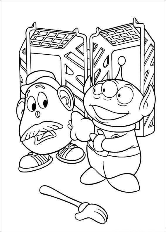 coloring pages toy story 3   Free Coloring Pages ...