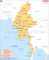 Airports in Myanmar Burma