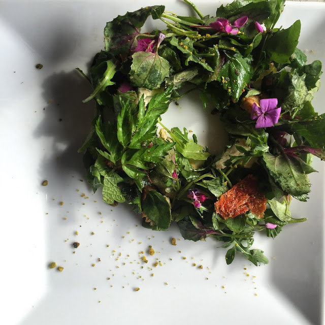 Eating Fabulously, Christopher Stewart, Dirt Candy, Dirt Candy restaurant review, Amanda Cohen, vegetables,
