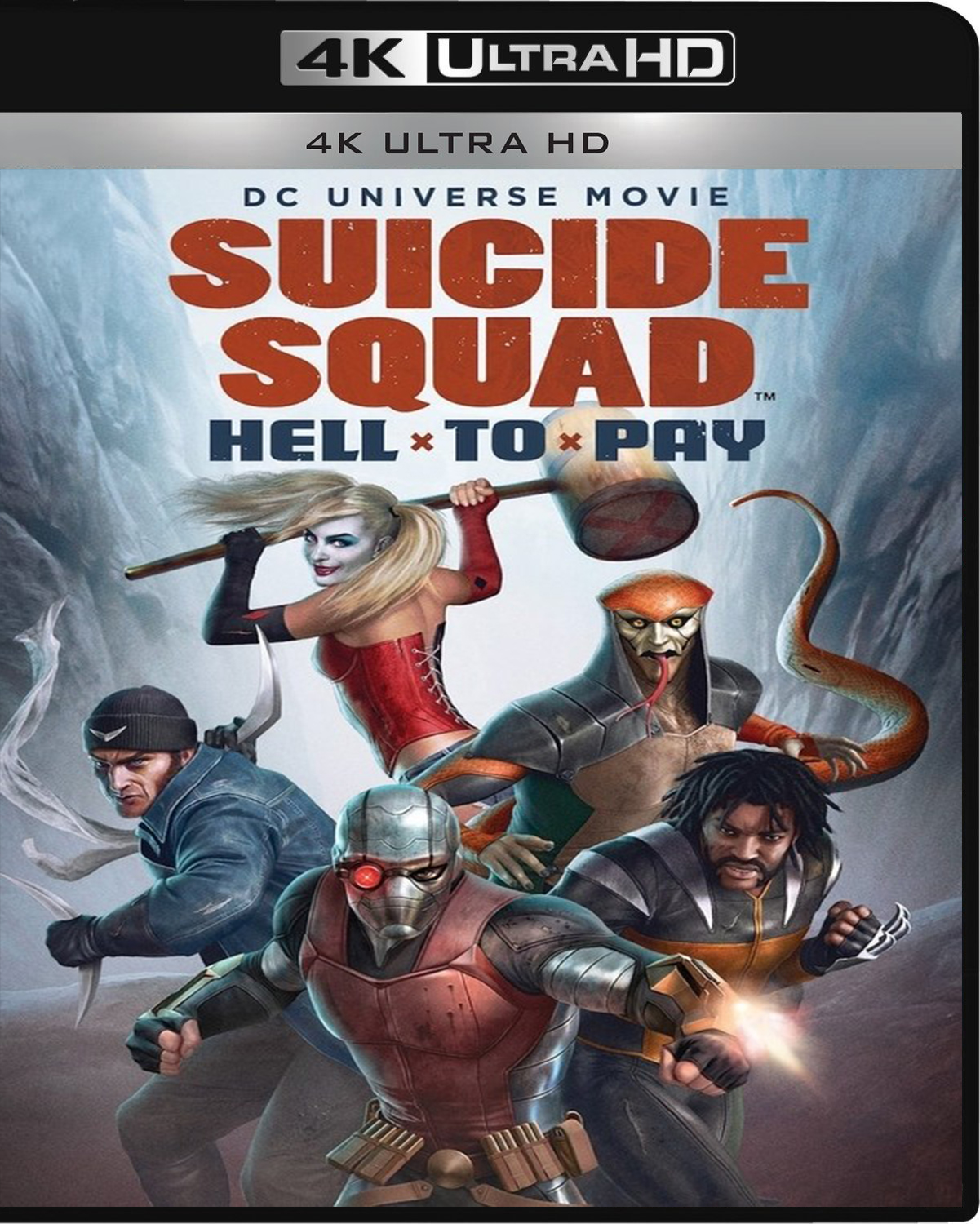 Suicide Squad: Hell to Pay [2018] [UHD] [2160p] [Latino – Castellano]