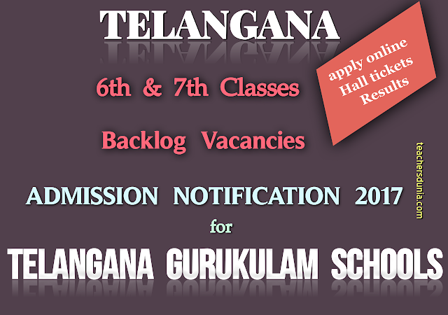 TREIS-Class-VI-and-VII-Backlog-Vacancies-Admission-Notification-2017