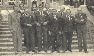 Pogoriely, Sulik, Makarczyk, Frydman, Regedzinski, Wojciechowski, Miguel Najdorf, Jagielski, Kremer y Friedmann