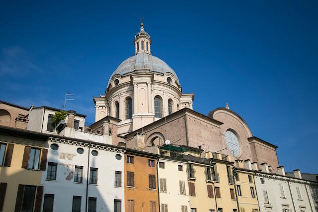 Piazza delle Erbe-Mantova