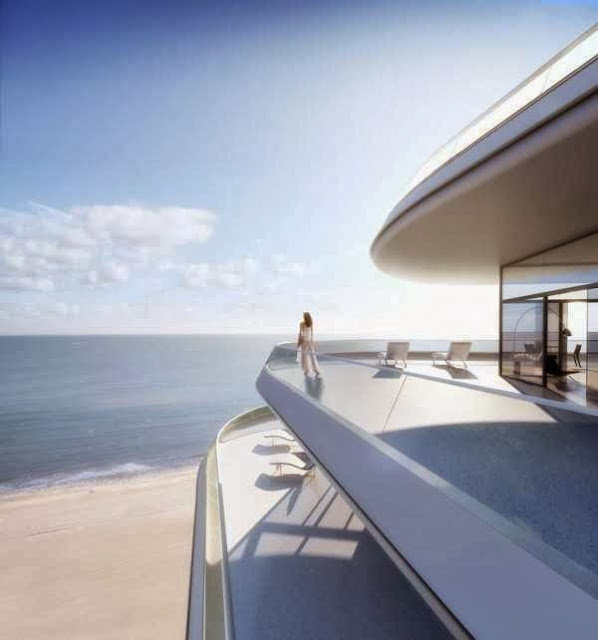 Natural Scenery Beauty Miami beachside penthouse