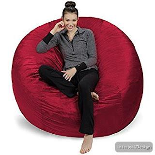 Giant Bean Bag Chair Lounger 6
