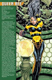 Reina Abeja Ficha DC Comics