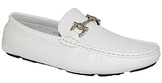 Calvin Klein White Loafers