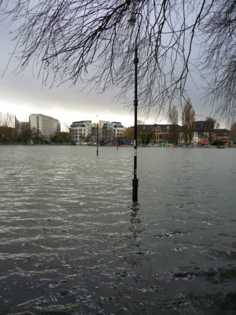 CHRISTCHURCH MEADOWS flooded.