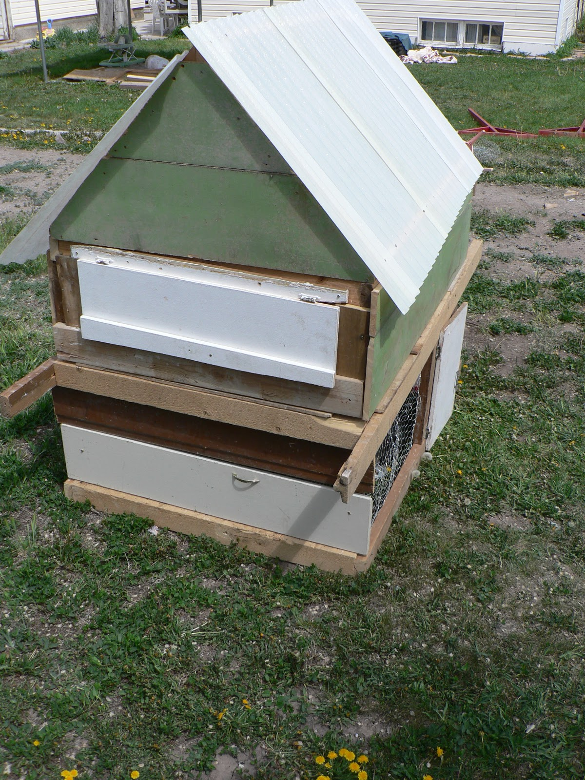 DIY Chicken Coop - Bless This Mess