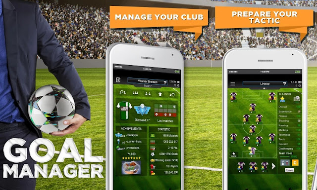 Download Goal Manager Mod Apk Terbaru Gratis