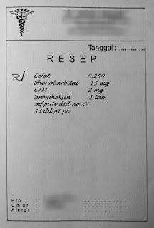 Apa yang dimaksud dengan resep obat?