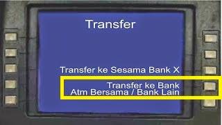 Cara Transfer Uang ATM Bersama