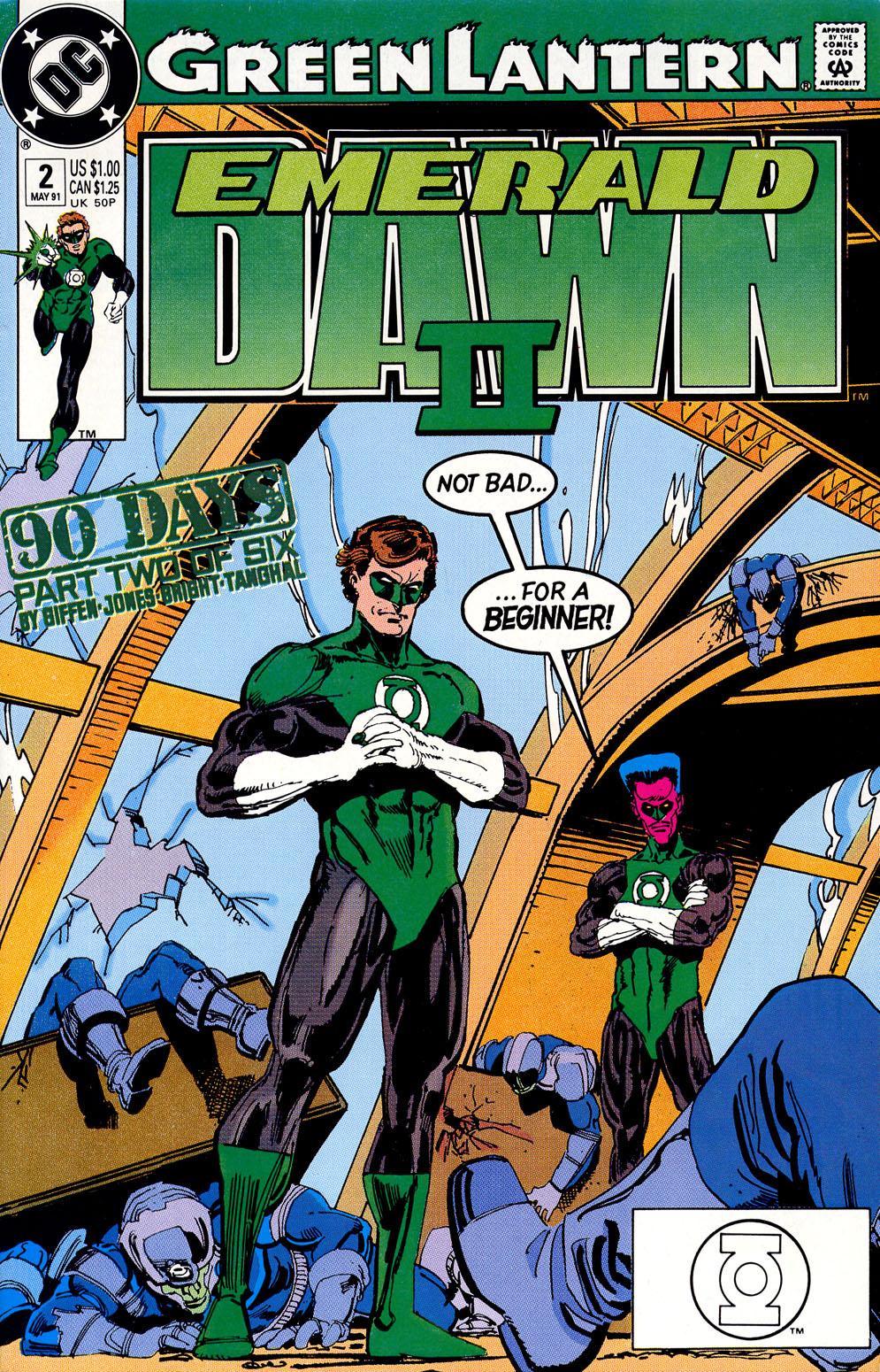 Green Lantern: Emerald Dawn II 2 Page 1