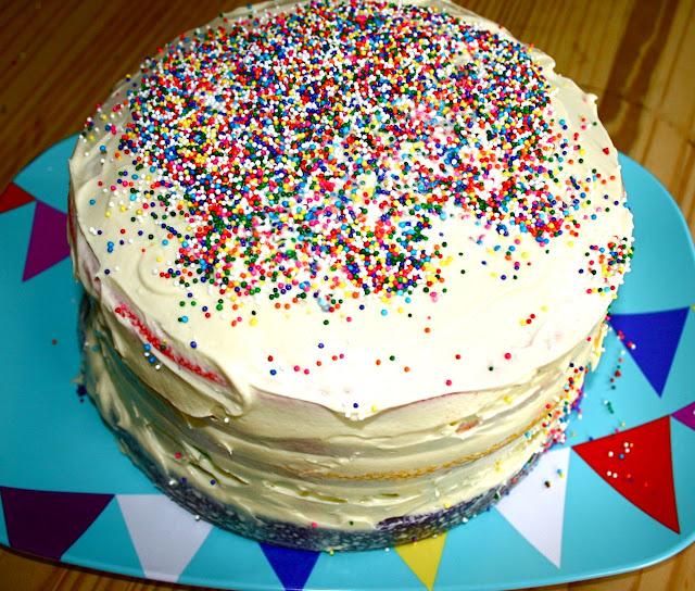 Semi Naked Cake For Guys Birthday