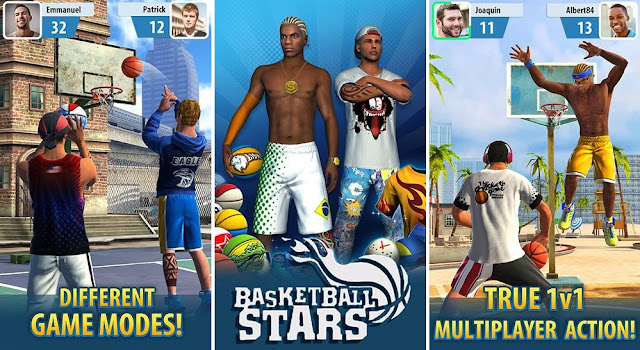 Download Basketball Stars MOD APK Fast Level Up GamePlay