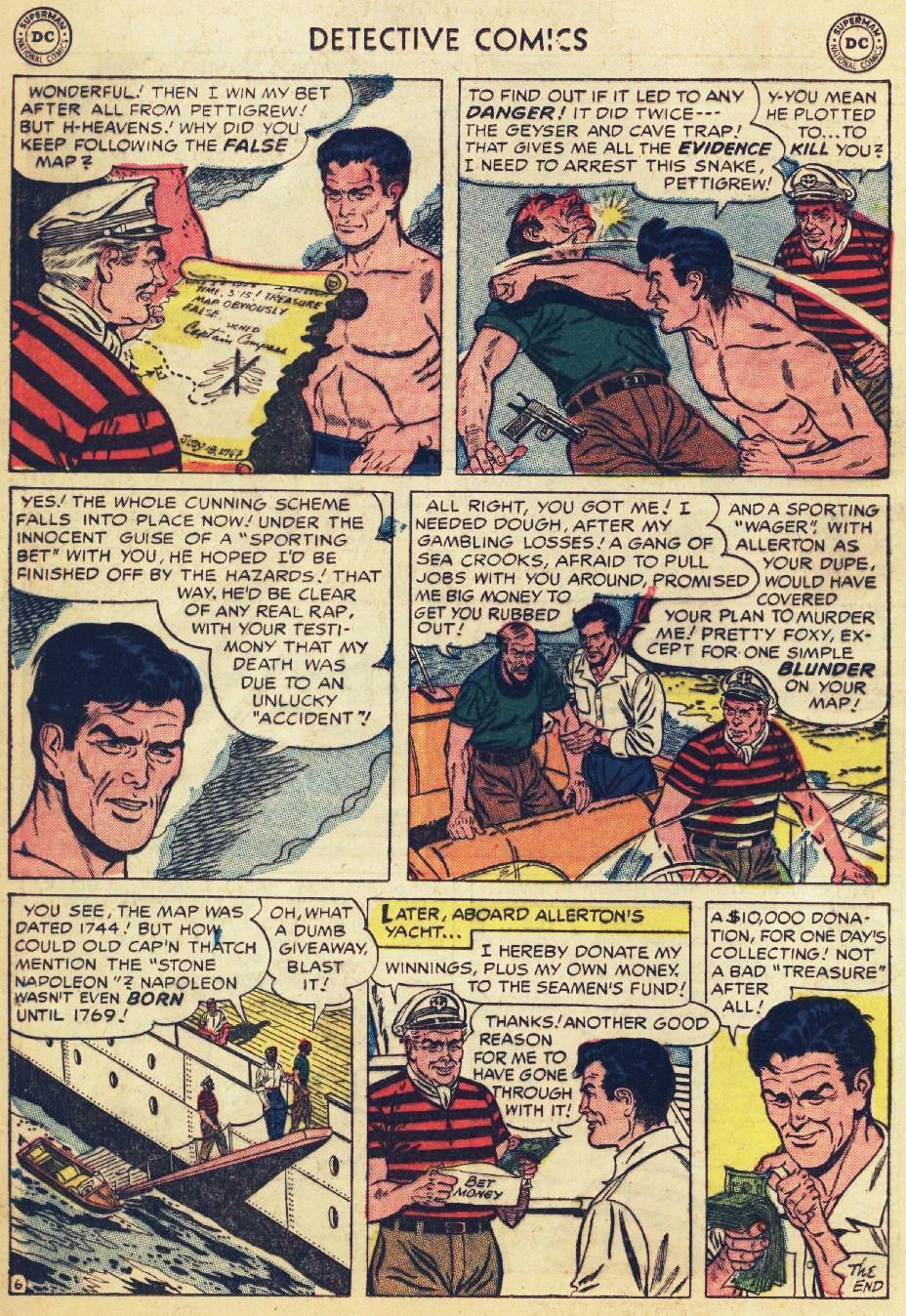 Read online Detective Comics (1937) comic -  Issue #215 - 20