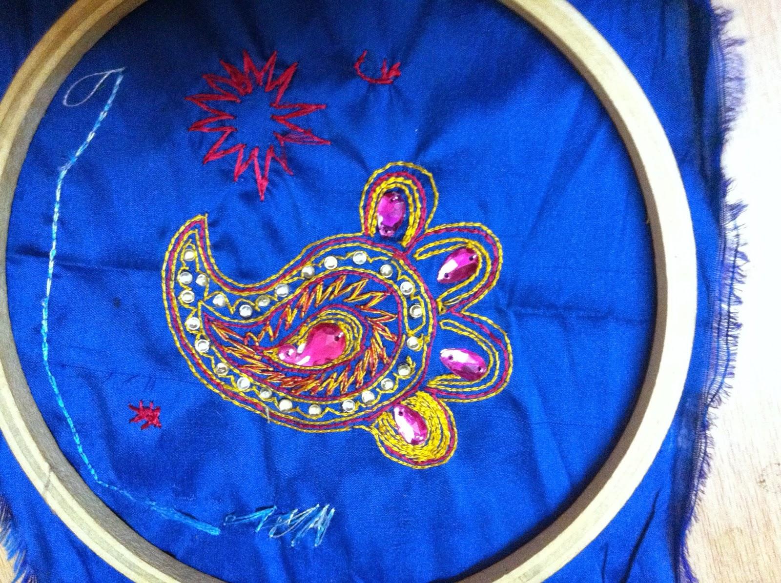 Kk arts and crafts aari embroidery tutorial links