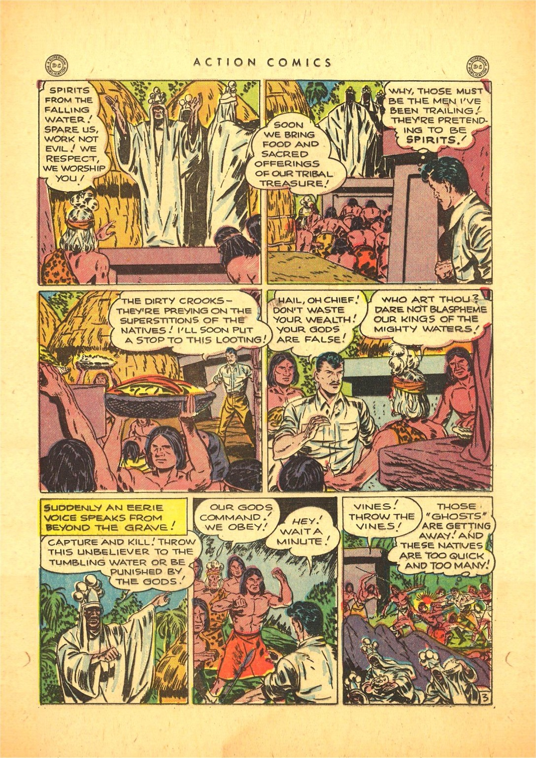 Read online Action Comics (1938) comic -  Issue #87 - 36
