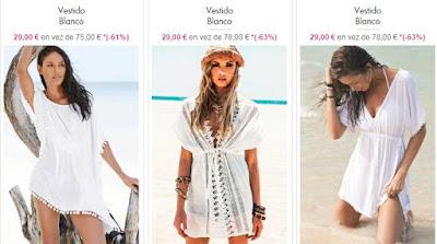 vestidos playa
